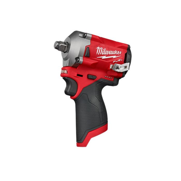 """M12 FUEL 1/2"""" Stubby Impact Wrench w/Friction Ring (Tool Only)"""
