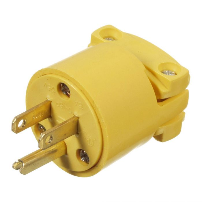 Cooper Wiring Devices 4867 Male Cord End Plug Round