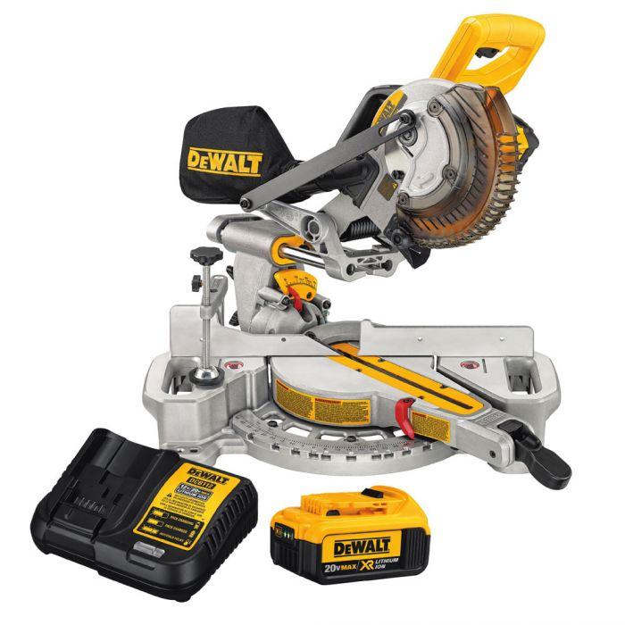 "20V MAX 7-1/4"" Sliding Miter Saw  (Kit)"