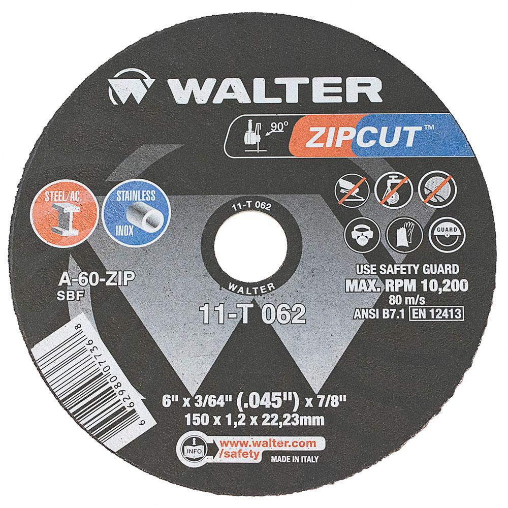 x 7//8 In x 1//16 In 25 PCS 7 In RPM 8,600 46 Grit Cutoff Wheel Max